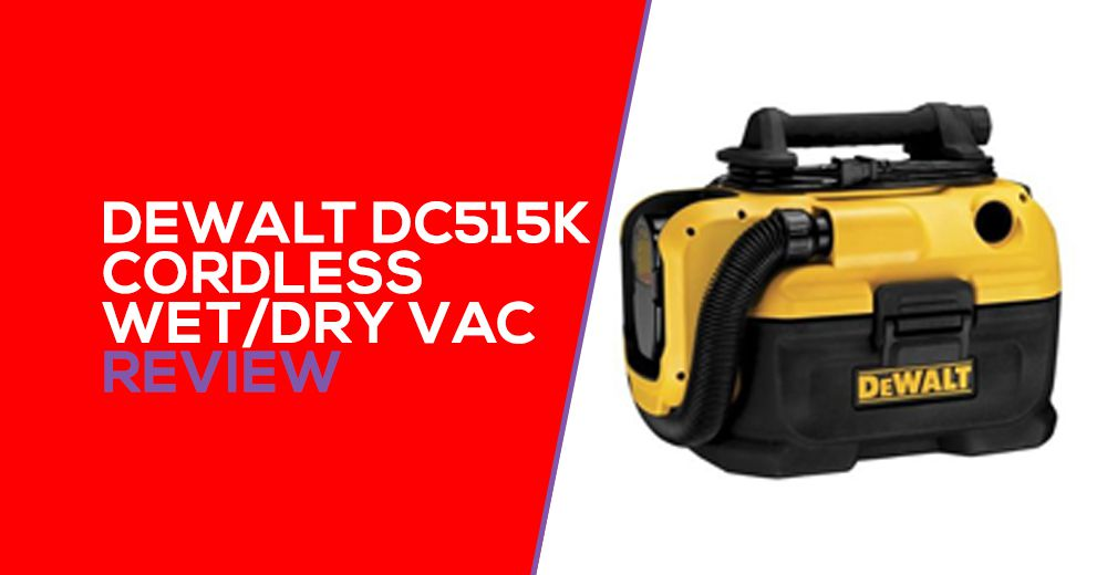 DeWalt DCV581H Review